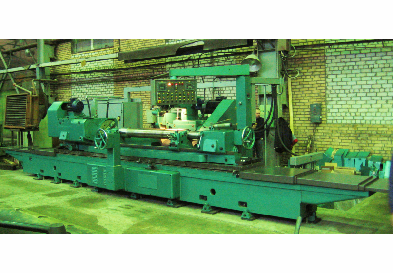 Heavy cylindrical grinding machines